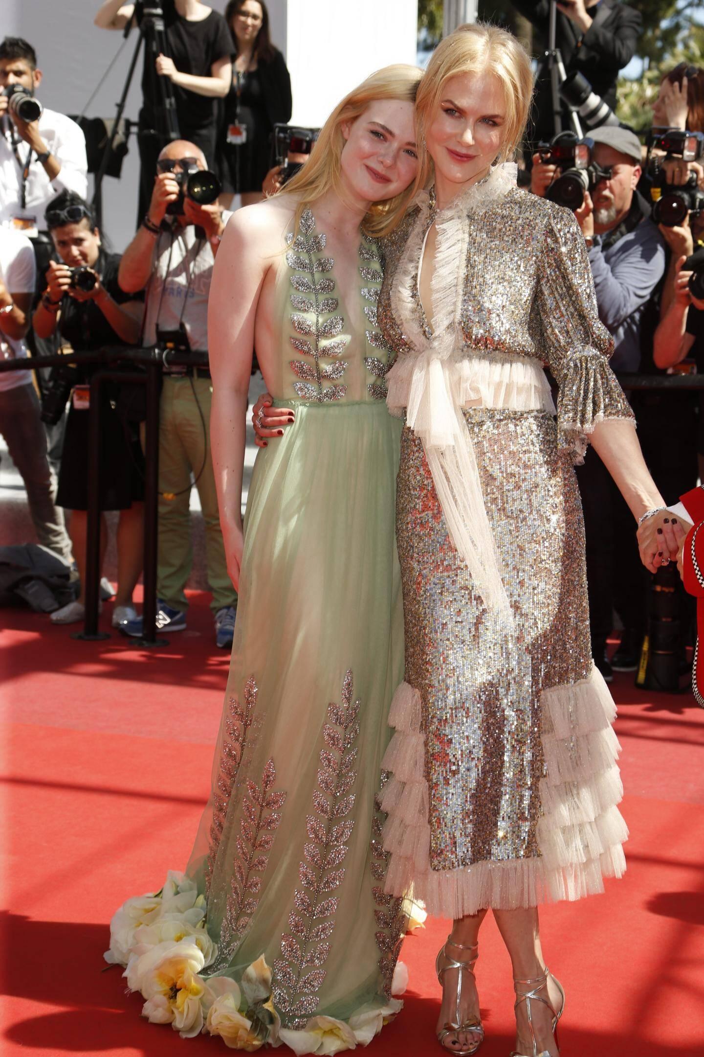 Nicole Kidman et Elle Fanning.