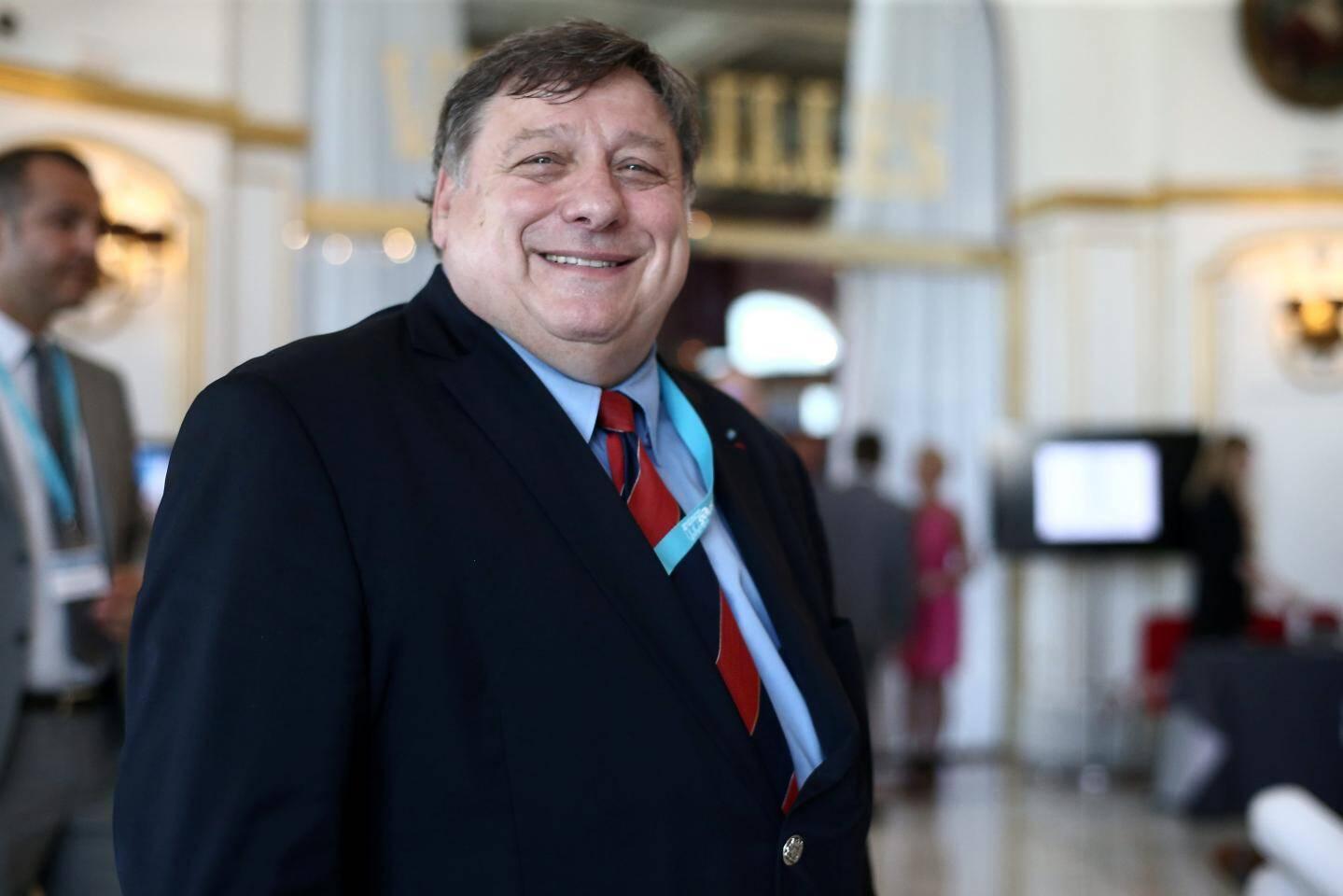 Jean-Pierre Tripet, le  président du Syndicat national des entreprises de sécurité.