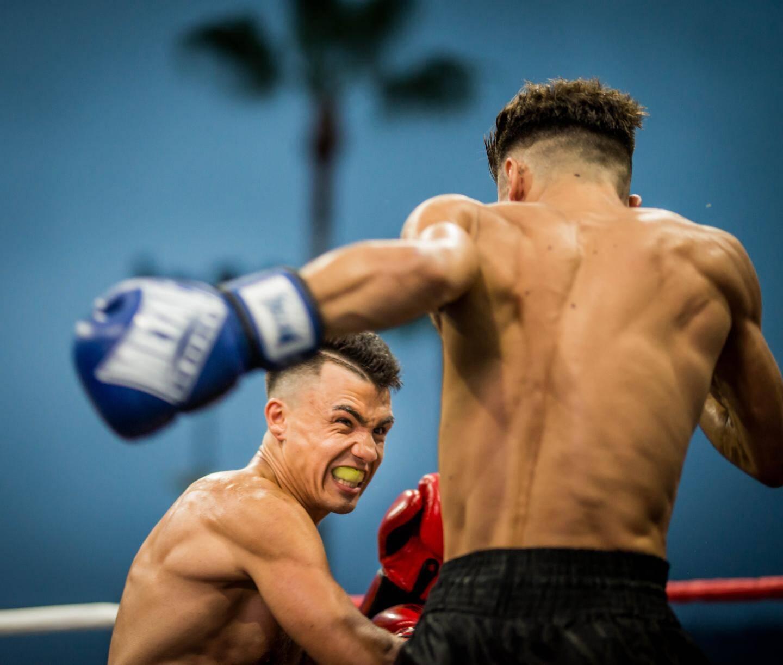 Les combats de K1 ont ouvert la soirée avec punch.