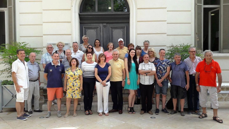 Des auteurs régionaux réunis à Bagnols ce dernier samedi.