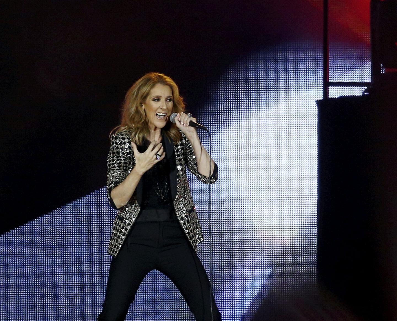 Concert de Céline Dion le 20/07/2017 à l'Allianz Riviera.