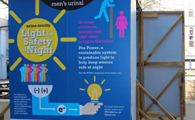 Ces WC produisent de l'électricité grâce à de l'urine.