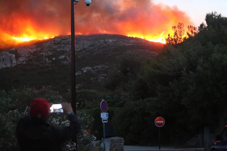 Incendie à Ramatuelle.