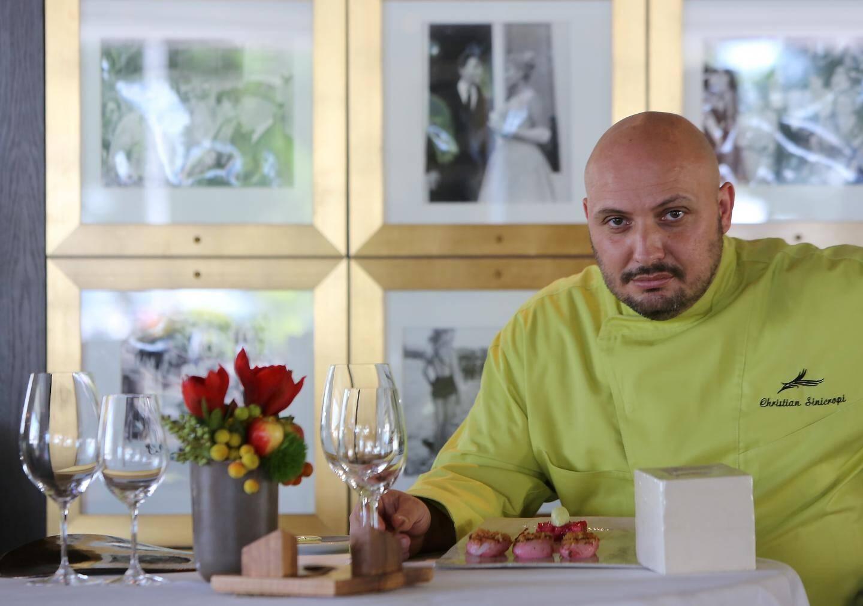 Christian Sinicropi, le chef deux étoiles au guide Michelin