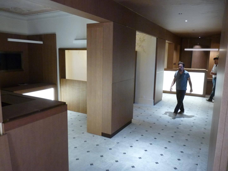 L'accueil des visiteurs s'effectuera au rez-de-chaussée où un design actuel a été privilégié.