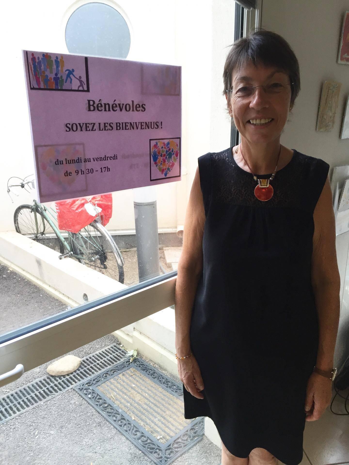 Marie Monnoyeur recrute des bénévoles pour les associations membres  de l'UDV.