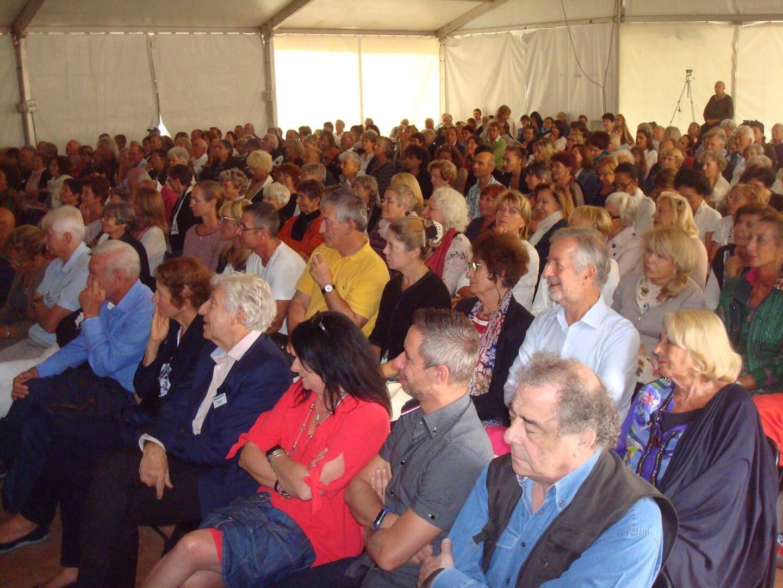 Le public était au rendez-vous, hier, pour le dernier jour du colloque « Art, science, pensée ».