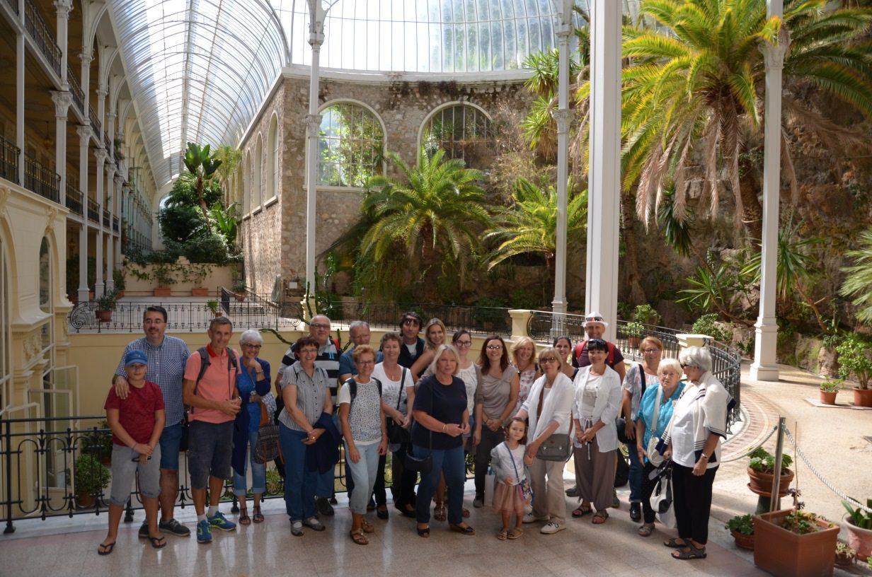 Au Riviera Palace, de nombreux visiteurs ont pu admirer la verrière du Jardin d'hiver.