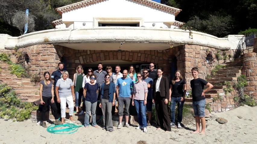 Les opérateurs des 7 sentiers se sont réunis en séminaire au Domaine du Rayol.