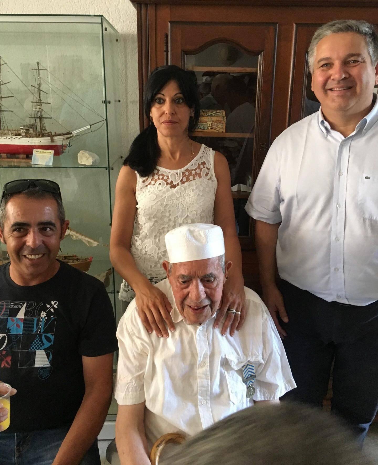 M. Boudjadja, disparu en juin dernier, avait reçu la Reconnaissance de la Nation.