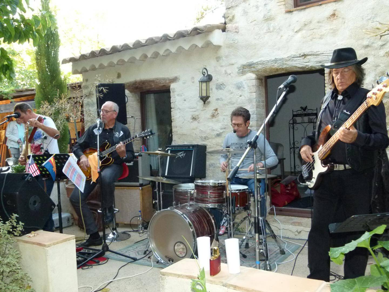 Le groupe Trempadou's Band.