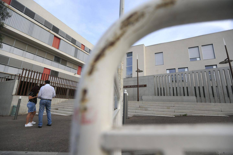 Le lycée des Eucalyptus, hier, où une partie du rez-de-chaussée et de l'internat a été rénovée pour 150.000 euros.
