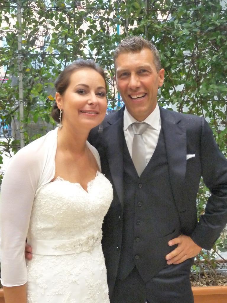 Francesca et Nicholas.