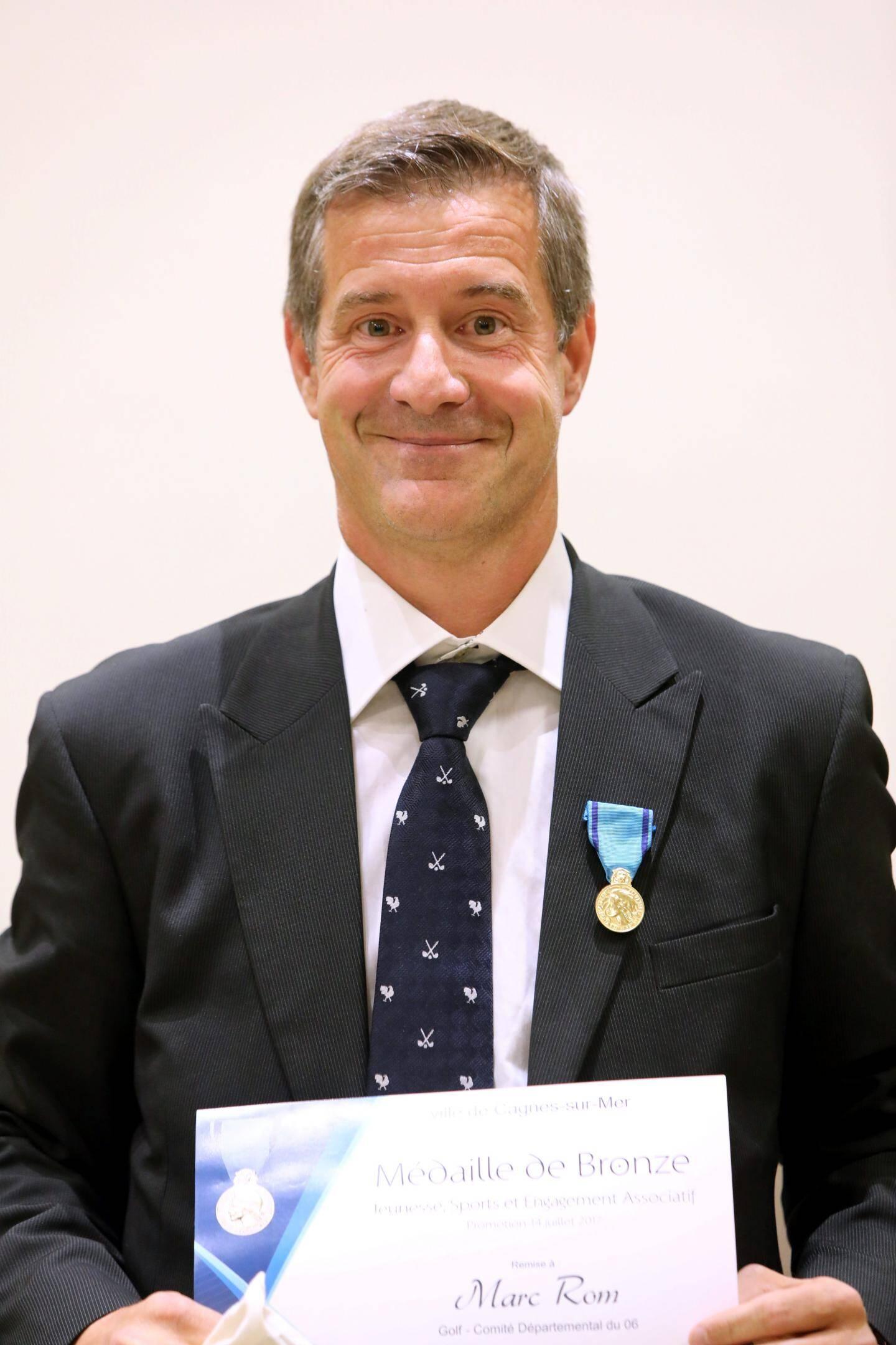 Marc Rom, comité dal golf : BRONZE