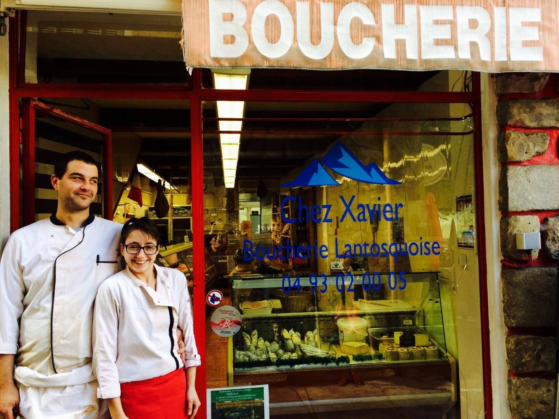 Mélodie et Xavier parient sur le dynamisme de Lantosque où ils ont repris une boucherie.