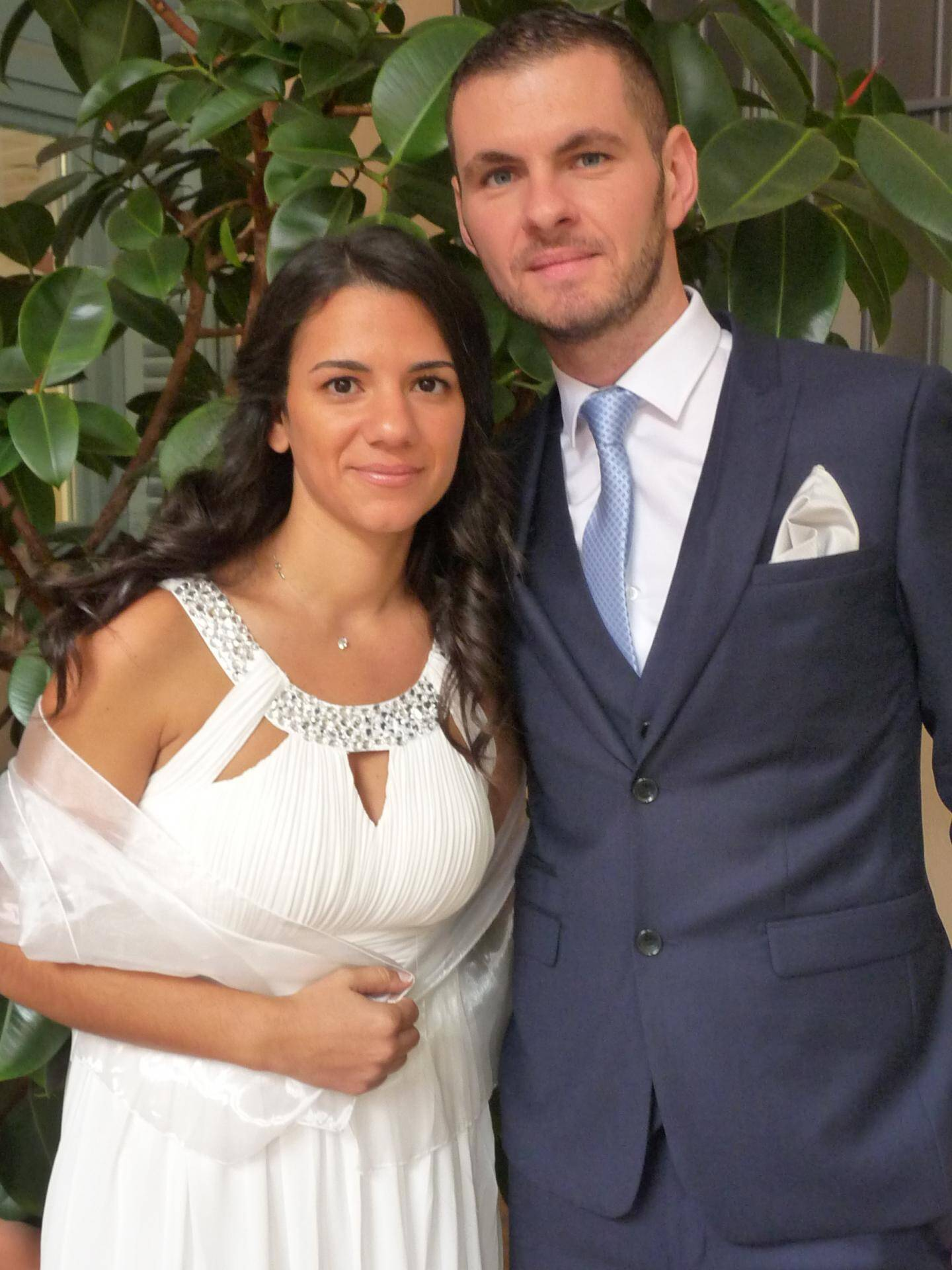 Julia Bosque, auxiliaire de puériculture, et Cédric Schimicci, agent de comptage.