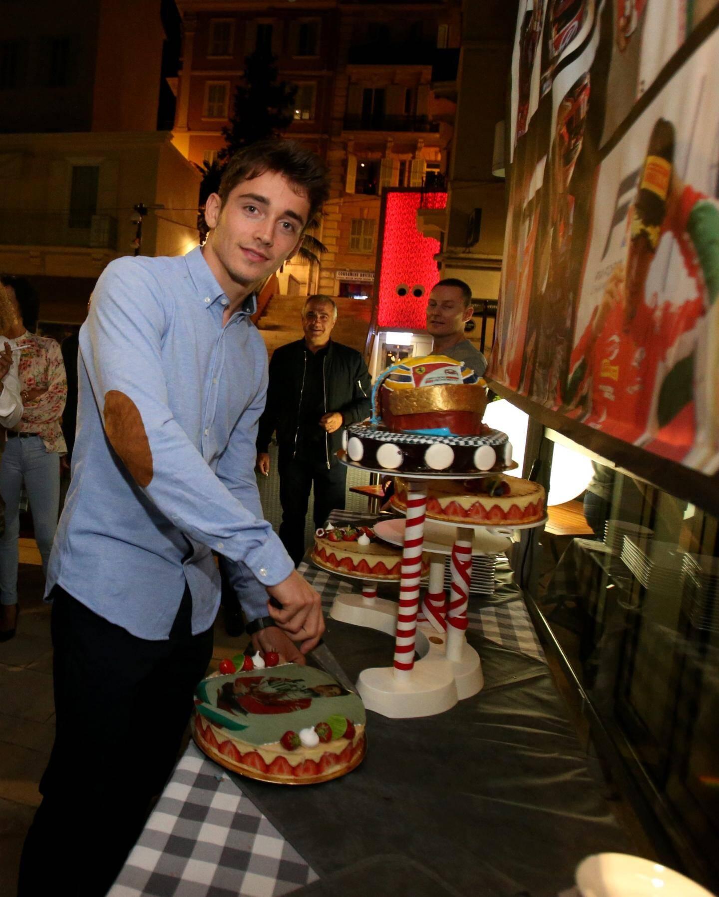 Le Monégasque fêtera dans quelques jours son vingtième anniversaire.