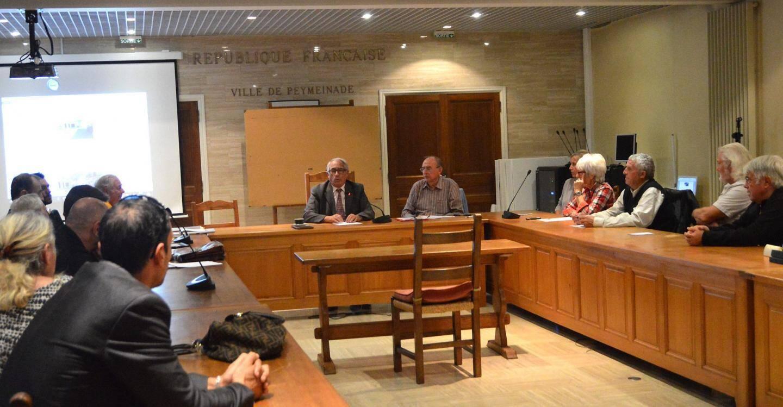 Une réunion qui a permis au maire d'exposer les projets et aux habitants de s'exprimer.