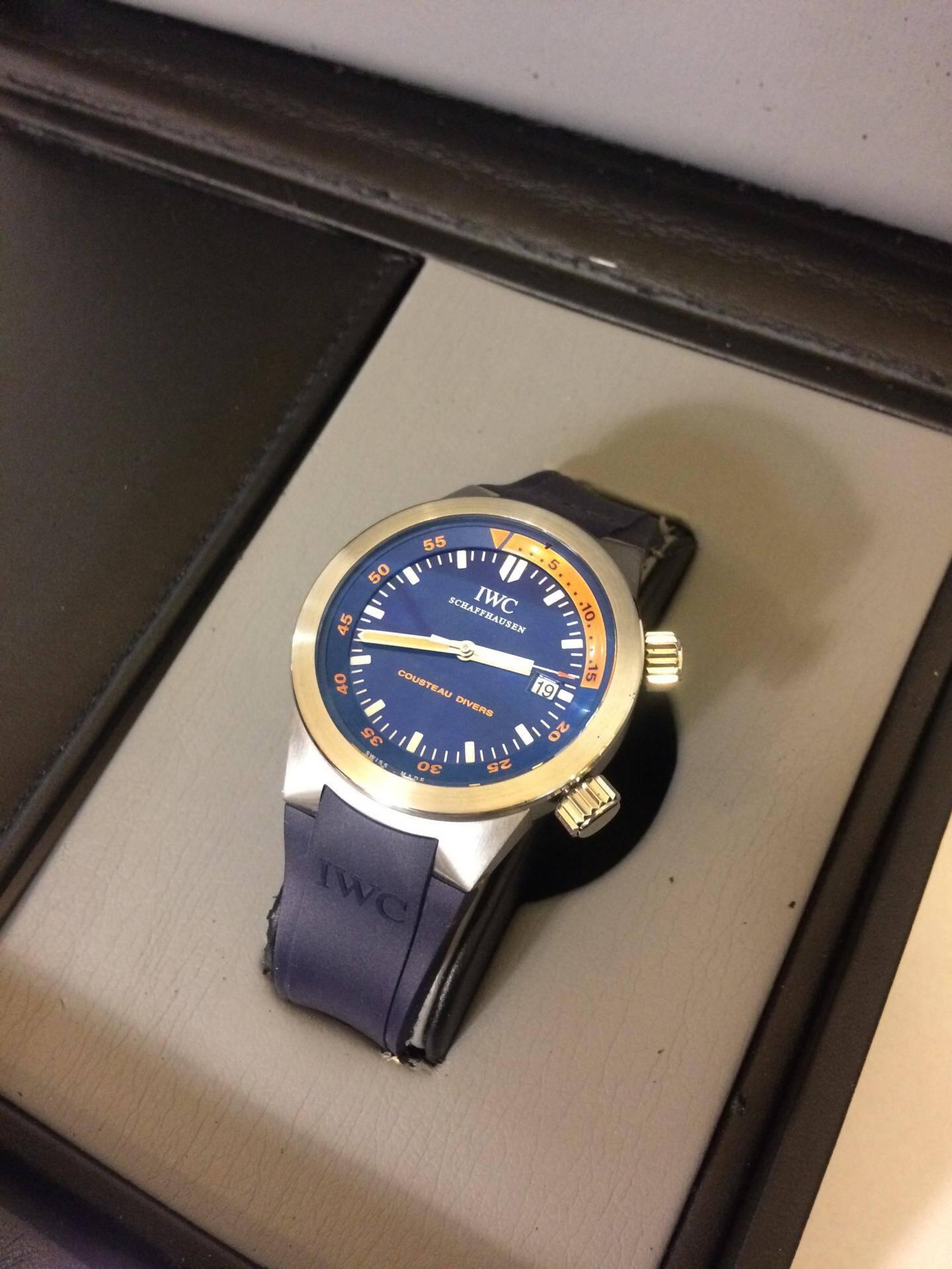 La montre, modèle Cousteau, sera mise à prix à 1 000 euros.(DR)