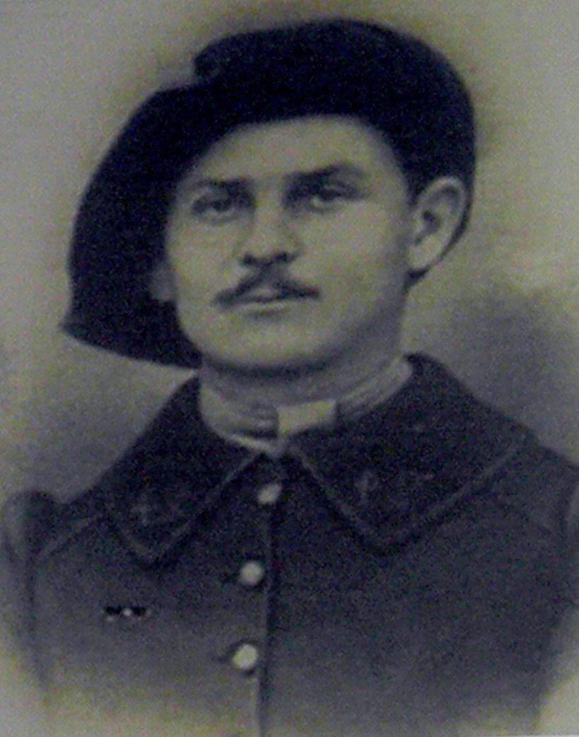 Auguste Odde parti au combat en Moselle en 1914.