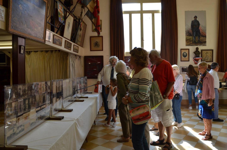 Le musée du Foyer du Poilu : les visites sont commentées par Jean-François Lesage.