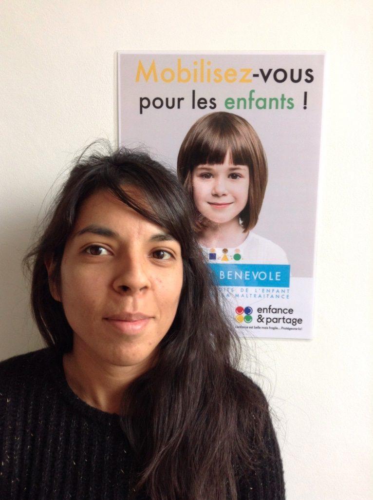Aurélie Lucquiaud, déléguée d'Enfance et partage.