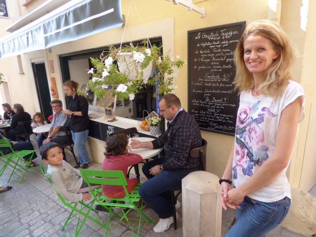 Elodie, du Goustado a gagné une nouvelle clientèle avec son menu végétarien.
