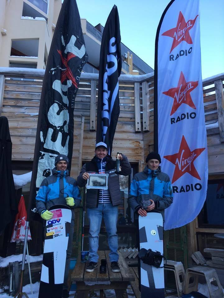 Ken Vuagnoux, le licencié de Back to back à Isola 2000, a remporté la Coupe d'Europe samedi dans sa station.(DR)