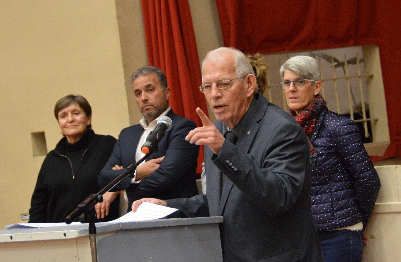 Face à la conjoncture, le maire Joël Pasquelin a annoncé une année 2018 quasiment blanche en investissements.
