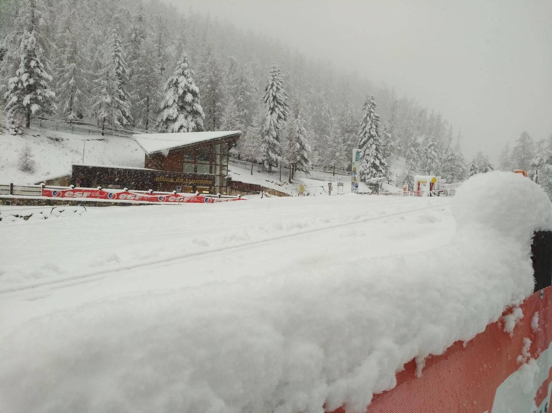 Il a neigé 30 cm à La Colmiane en 24 heures.