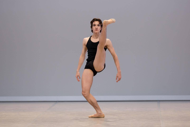 Shale Wagman, jeune étoile montante de la danse ( Photo Grégory Batardon)