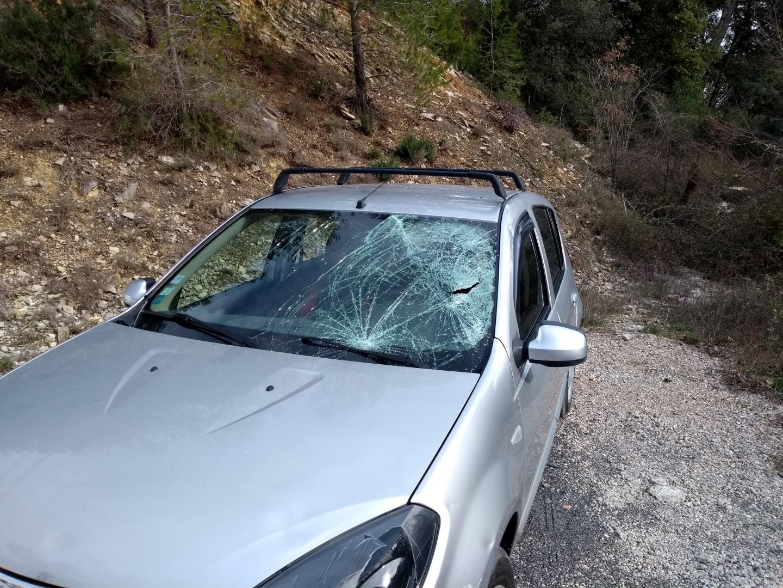 Le peloton est entré en collision avec une voiture sur la route reliant Carcès à Lorgues.
