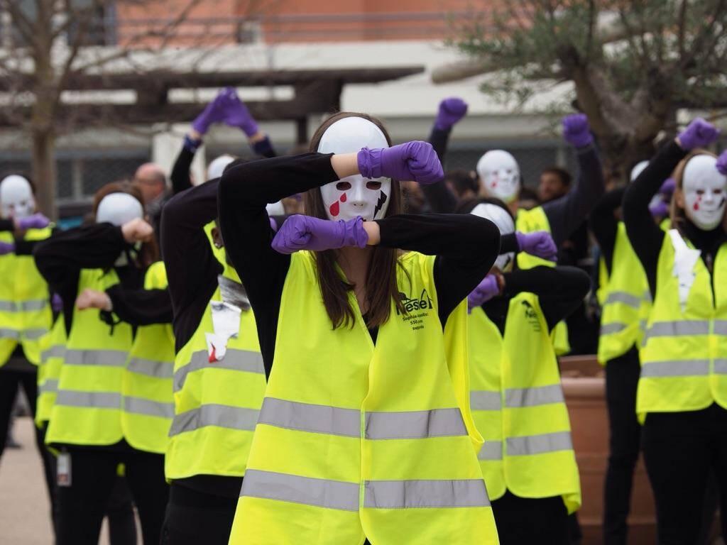 Les salariés sont mobilisés contre la fermeture, en décembre prochain, du site de Sophia Antipolis.