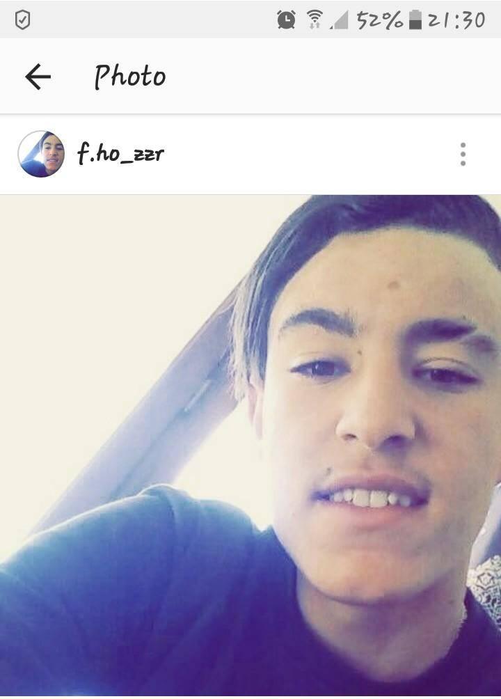 Fares Hasnaoui, 16 ans.