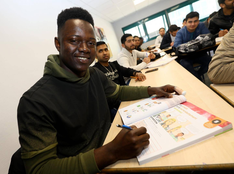 Mamadouba a quitté son pays pour se former en France.