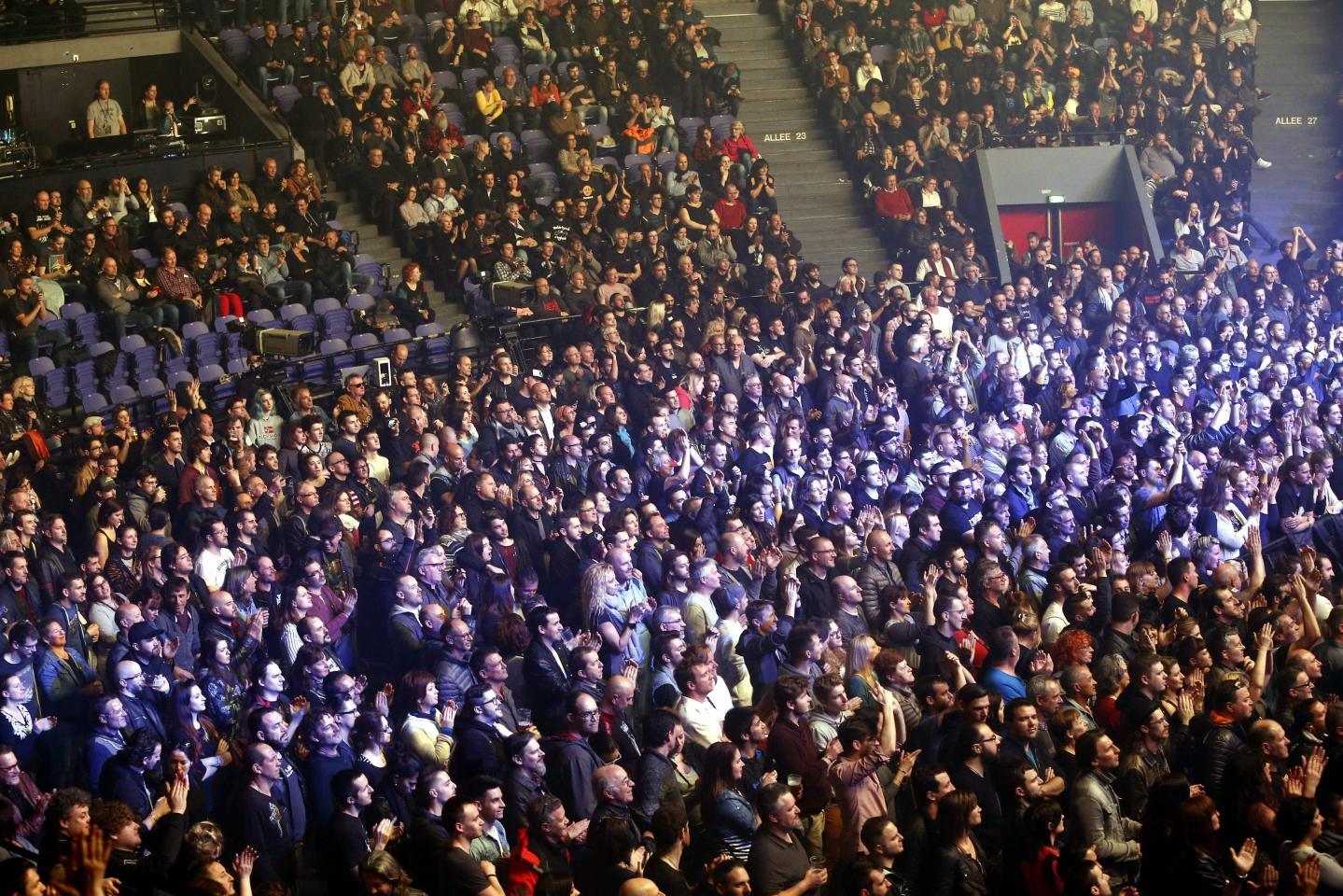 Plus de 5.000 personnes étaient présentes.