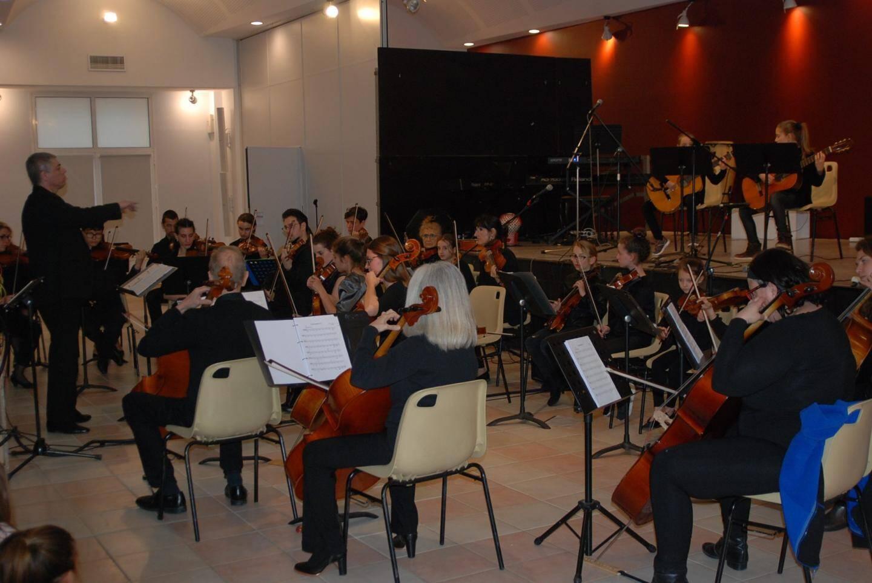 Les jeunes chanteuses, bien accompagnées, ont impressionné le public.