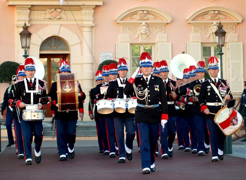 L'orchestre des carabiniers du prince jouera l'hymne monégasque