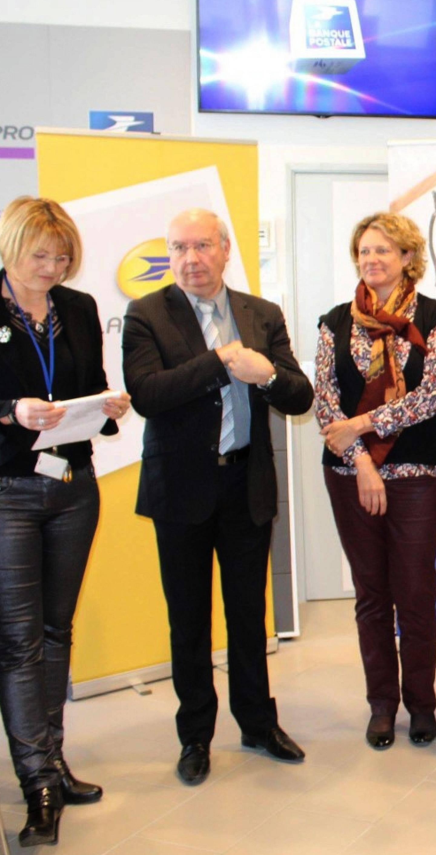 Roger Tantot, délégué aux relations territoriales du groupe La Poste dans le Var.