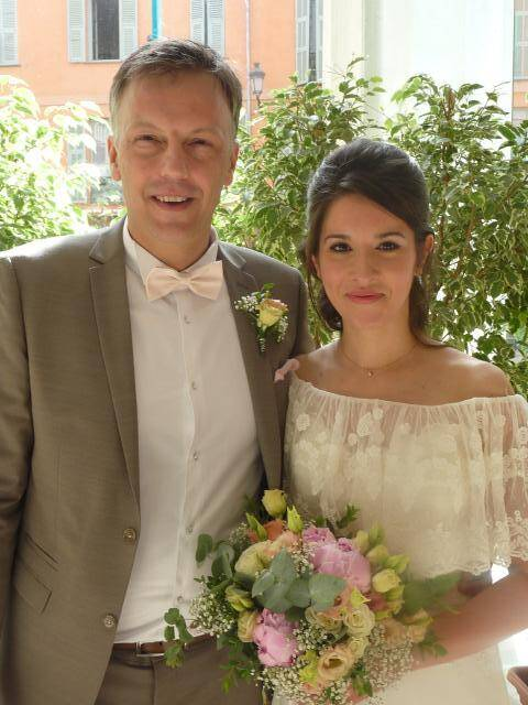 Christophe Kaszewski, chef de rang, et Alexandra Zarzour, vendeuse polyvalente.