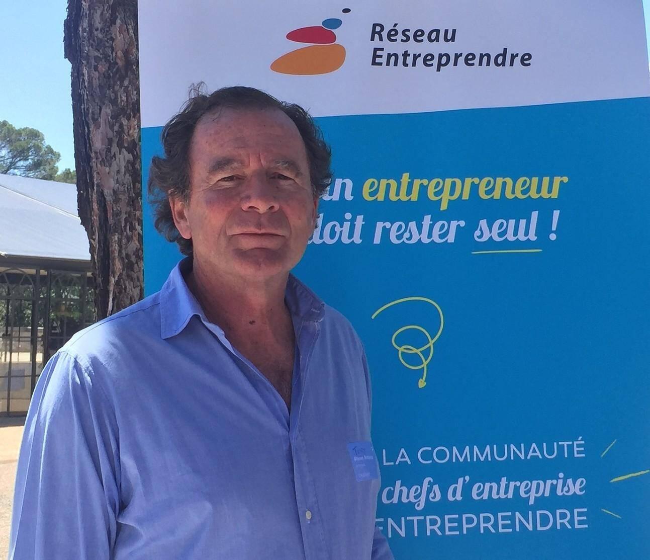 René-Antoine Fouan, cofondateur de Sebraf, est venu chercher une confirmation de stratégie au Paca Booster Camp.