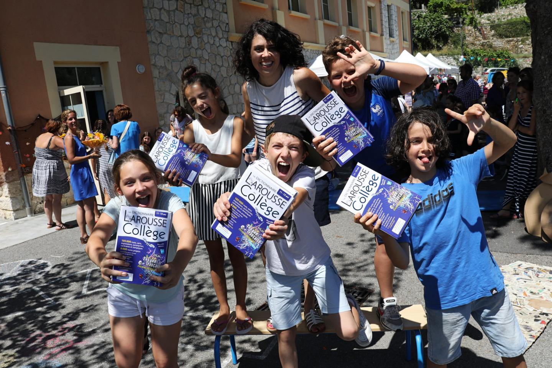 Adrien, Marina, Mathéo, Graziella, Luc, Anaïs et Anthony entrent au collège l'an prochain.