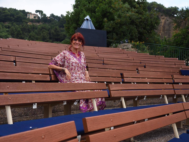 Chantal Martino a intégré l'équipe du festival en 1986 et le dirige depuis vingt ans.