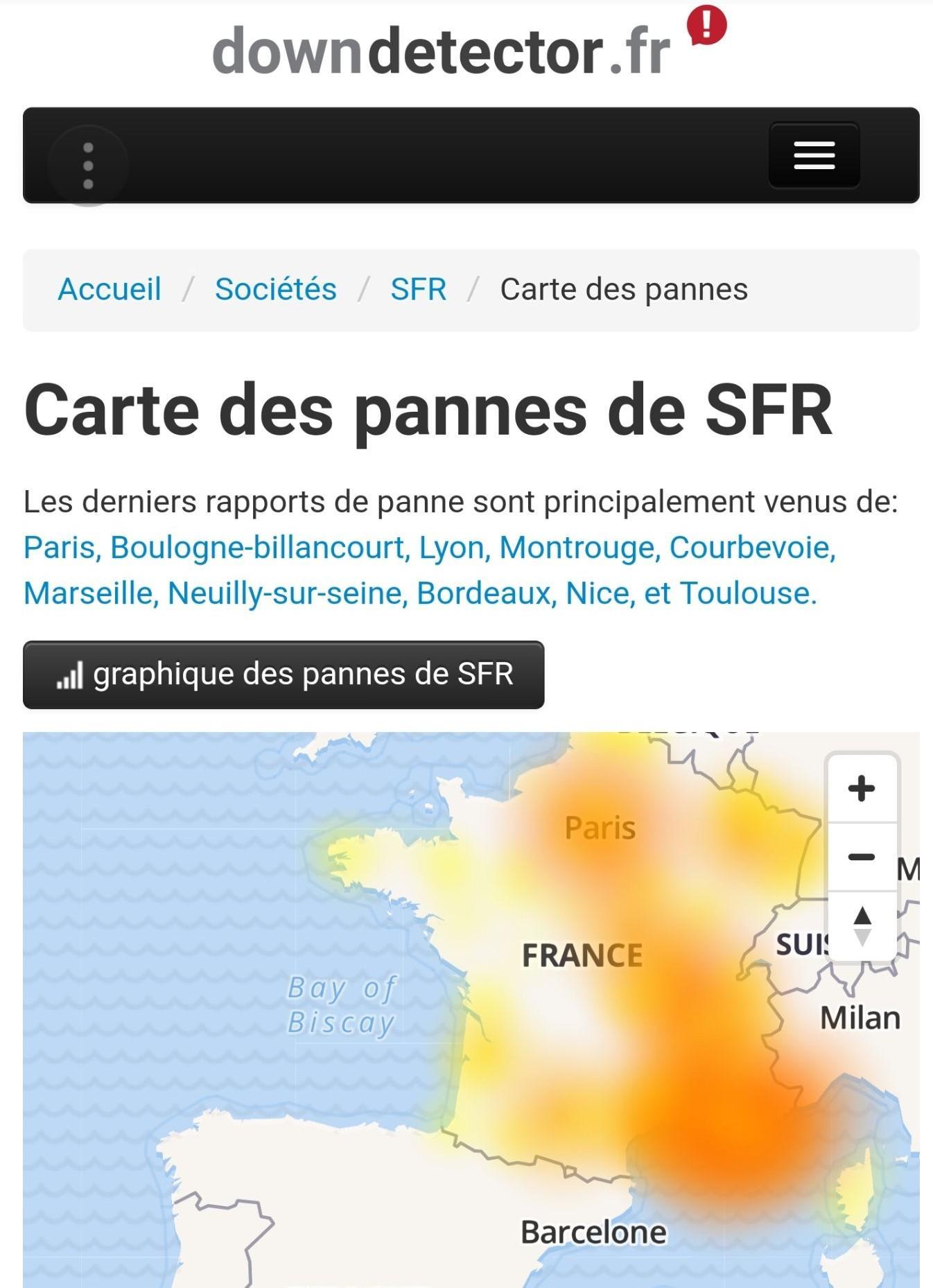 Le Sud de la France semble bel et bien touché