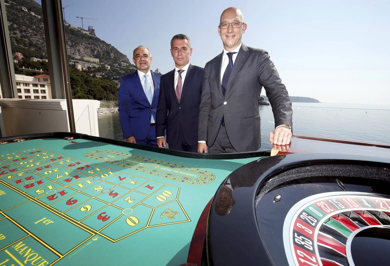 Christian Barilaro, Frédéric Darnet et Pascal Camia ont testé hier matin les  nouvelles installations.