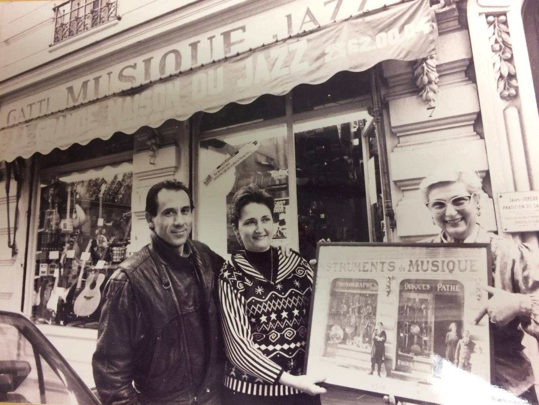 La boutique de musique Gatti