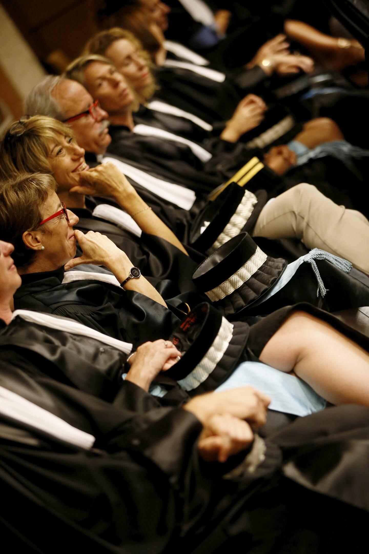 Les six magistrats ont été installés ce lundi à Draguignan