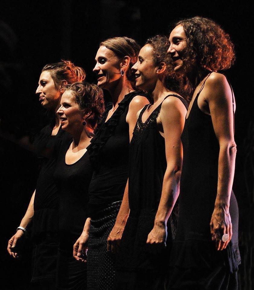 Stage de chant et concert avec le groupe « La Mal coiffée  ». (DR)
