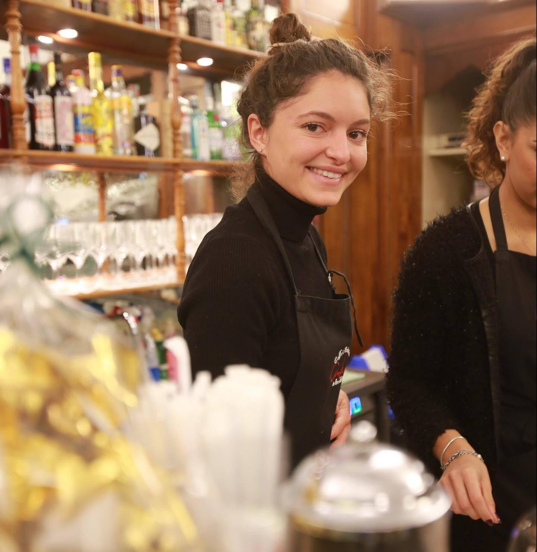 Maria, 20 ans, étudiante à l'Université du goût.