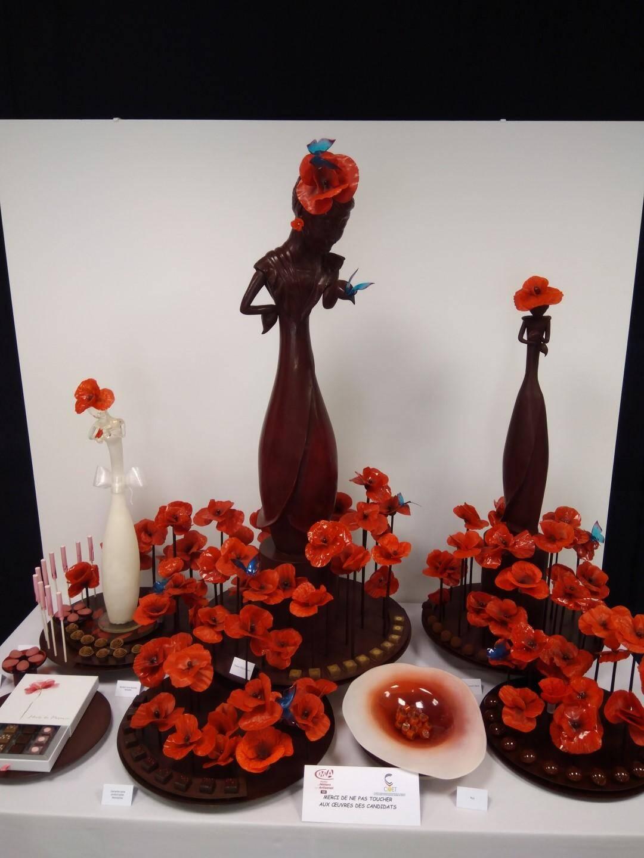 Un dessert en chocolat de Paul Occhipinti.